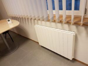 Radiateur électrique Conforthec avec noyau en Stéatite Design épuré